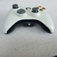 CUSTOM Black White Official Microsoft Xbox 360 Wireless Controller  Original OEM