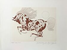 """RARE!! #1/1 GUILLAUME AZOULAY LTD ED """"PAINTED"""" H/SIGNED  ETCHING COA"""