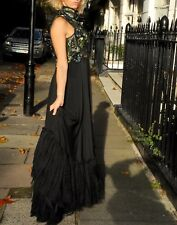 Alexander McQueen dress with Embroiderery