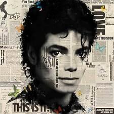 VeeBee - Michael Jackson butterflies Signed art print
