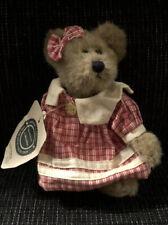 "Boyds Bears Archive Collection ""Lois S Bearhugs"" Bear Plush W/Tags 6"""