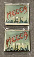 Lot Of 2 Mecca Cigarettes Original Boxes N.Y.
