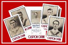 CLAPTON ORIENT (now LEYTON O) - RETRO 1920's STYLE - NEW COLLECTORS POSTCARD SET