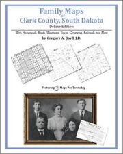Family Maps Clark County South Dakota Genealogy SD Plat