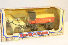 Horse & Wagon Coin Bank, Ertl Quality Farm Stores,  Mint  Boxed