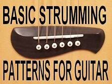 Basic Strumming Patterns For Guitar DVD Beginner Lesson