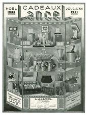 Publicité ancienne cadeaux Lancel sacs etc... 1930 A. Prota issue de magazine