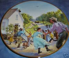 Little House On The Prairie~Bell for Walnut Grove Plate