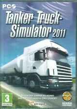 Tanker Truck Simulator 2011, Oil Transporter Business, PC Sim Game, NEW, XP & 7