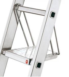 Hailo Hang-In Aluminium Ladder Plarform Step 150kg (9950-001)