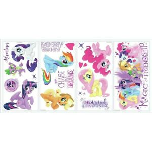 Peel & Stick My Little Pony Movie Wall Decals (18)