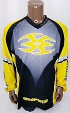 Empire Paintball Jersey Shirt Black Yellow XL