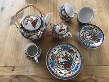 Feines Porzellan Teeservice für 6 Personen