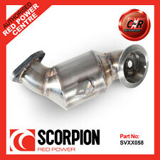 Vauxhall Corsa D 1.4T Black Edition 12 on Scorpion Downpipe HighFlow Cat SVXX058