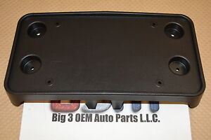 2014 Cadillac ATS front bumper License Plate Mounting Bracket OEM 20965342