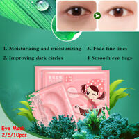 Dark Circle Remove  Anti Puffiness Eyelid Pad Eye Mask Eye Gel Patches Collagen