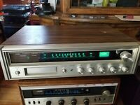 Fisher Integrated Component System MC-3000 AM/FM Stereo Receiver W8 Track