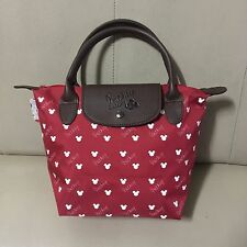 "Walt Disney Mickey Mouse Bag Handbag Red Purse Shopper Shoulder Tote Bag 8""x12"""