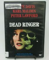 DEAD RINGER DVD MOVIE, BETTE DAVIS, KARL MALDEN, PETER LAWFORD, JEAN H. B&W, WS