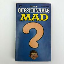 Signet 1967 Paperback MAD -The Unquestionable MAD Comic Book - 1st Print