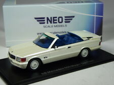 (KI-01-20) Neo Scale Models BB Mercedes 500 SEC Magic Top 1985 in 1:43 in OVP