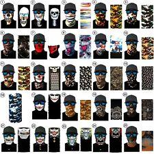 Balaclava Face Mask Scarf Neck Fishing Shield Sun Gaiter UV Headwear 39 Styles