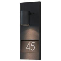 Konstsmide 7655-750 Modena House Number Down Light / Matt Black