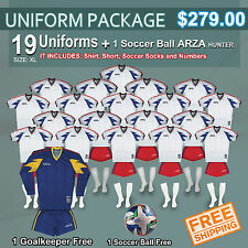 Uniform Arza Rancing AR-2 Short Sleeve for Soccer. Package $ 279.00