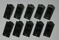 10 X Miniature Rocker Switches - SPST - 125V 15A - 1/2 HP - Swann Industries 39