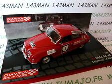 RF10M voiture 1/43 IXO Rallye Champions Finlande : SAAB 96 V4 SWEDISH 1972