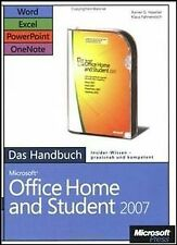 Microsoft Office Home and Student 2007 - Das Handbuch: W... | Buch | Zustand gut