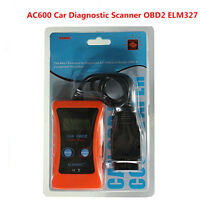 Universal AC600 LCD OBD2 ELM327 CAN BUS Car Fault Diagnostic Scanner Code Reader
