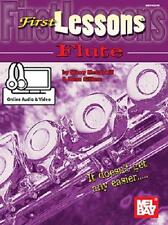 BEGINNER FLUTE FIRST LESSONS BOOK NEW