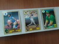 1987 Topps Baseball Cards Complete Your Set U-Pick #'s 1-200 Nm-Mint