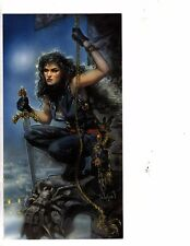 Unframed Art Poster fantasy poster woman pirate with sword  (202