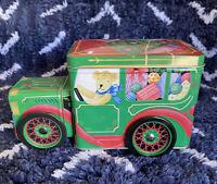 Rare! Vintage! Collectible Avon Bear Truck Storage Tin - Includes Original Box
