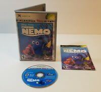 Finding Nemo (Microsoft Xbox, 2003) cib complete with case and manual