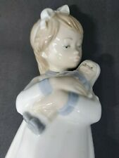 Lladro - Nao - Porcelain  A new doll  Collectable - Figurine - Pottery