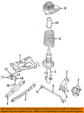 FORD OEM Rear Suspension-Knuckle Spindle F5RZ4A013B