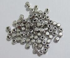 50pz  perline spacer separatori  cubo 4mm colore tibet lead,nickel free