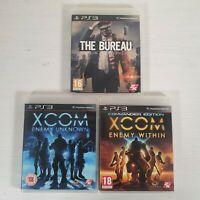 Xcom Trilogy - The Bureau Enemy Within Unknown -- Playstation 3 PS3 -- UK Seller