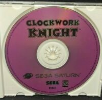 Clockwork Knight  - Sega Saturn Game  Rare Tested + Working !