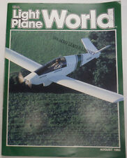 EAA Light Plane World Magazine Aircraft Vibration August 1985 FAL 071615R