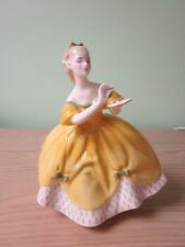 Royal Doulton figurine called The Last Waltz yellow HN2315