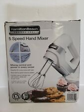 HAMILTON BEACH 62659E PROFESSIONAL 5 SPEED HAND MIXER NOB