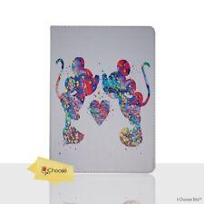 DISNEY Fan Art Custodia/Coperchio Apple iPad Air 2/pieghevole PU pelle Mickey & Minnie