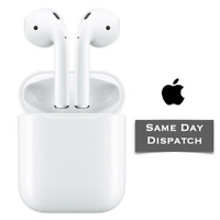 Genuine Apple AirPods 2nd generation with Charging Case White Bluetooth