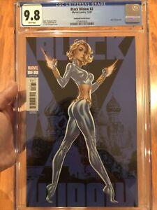 Black Widow #2 CGC 9.8 🔥 J. Scott Campbell Variant 🔥 Super Sexy Cover L@@K!