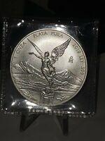 2019 Mexico Libertad Silver Onza .999 Fine Silver 1 oz Uncirculated