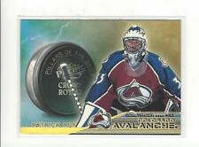 1998-99 Crown Royale Pillars of the Game #7 Patrick Roy Avalanche